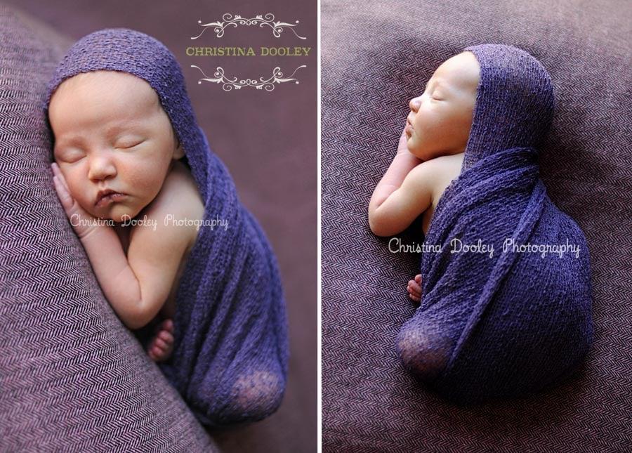 Newborn Baby Wrapped