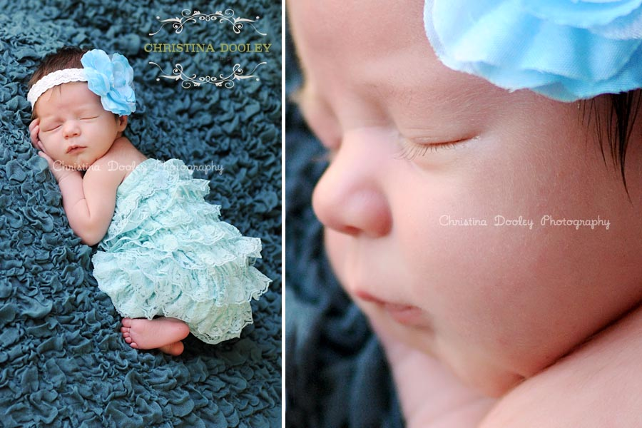 Sleeping Newborn Photography Session