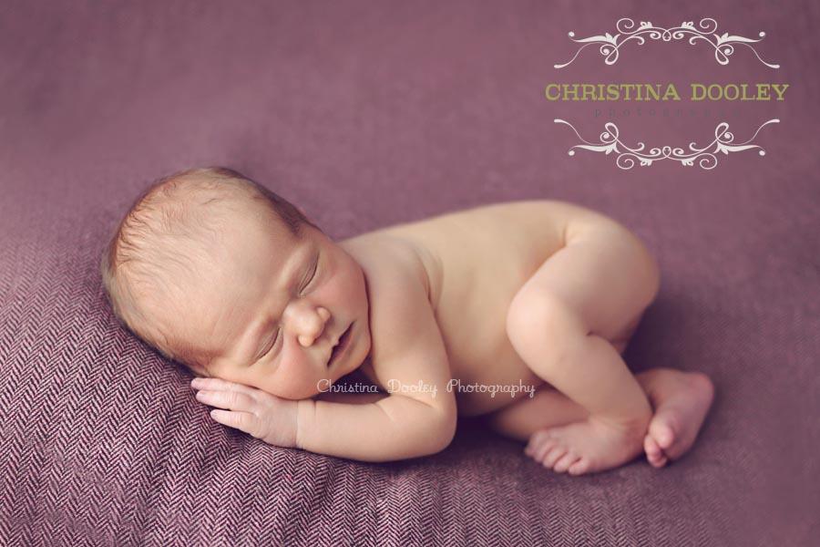 Sleepy Newborn Portrait Session