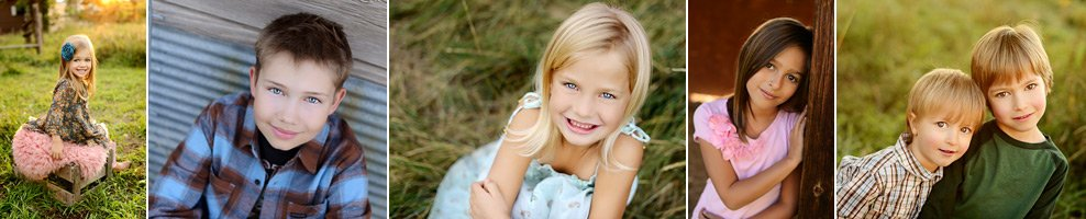 Denver child portrait photography by children