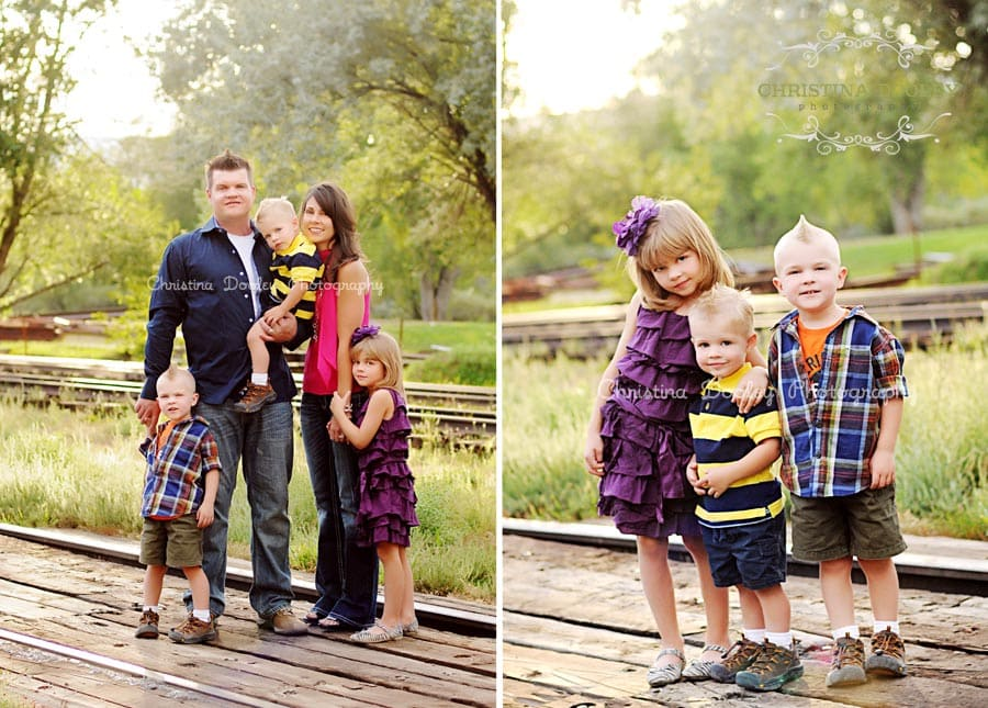 Boulder On Location Family Photographer