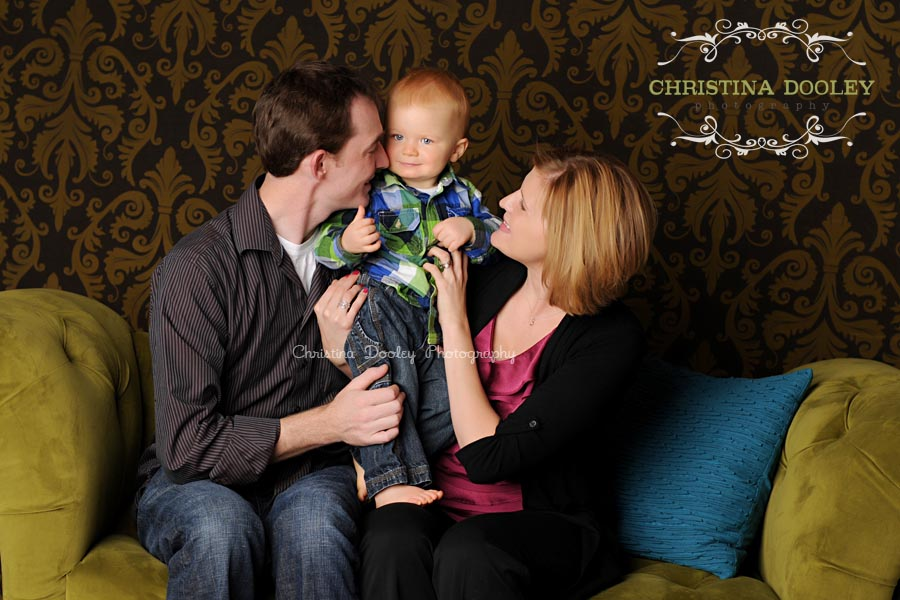 Studio Family Photographer Denver