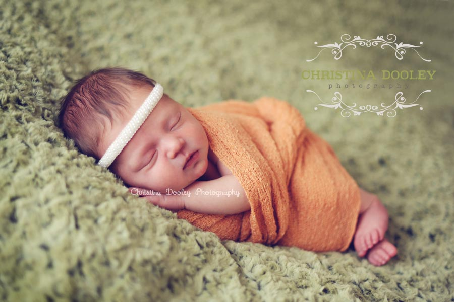 Cozy Baby Portrait Photographer
