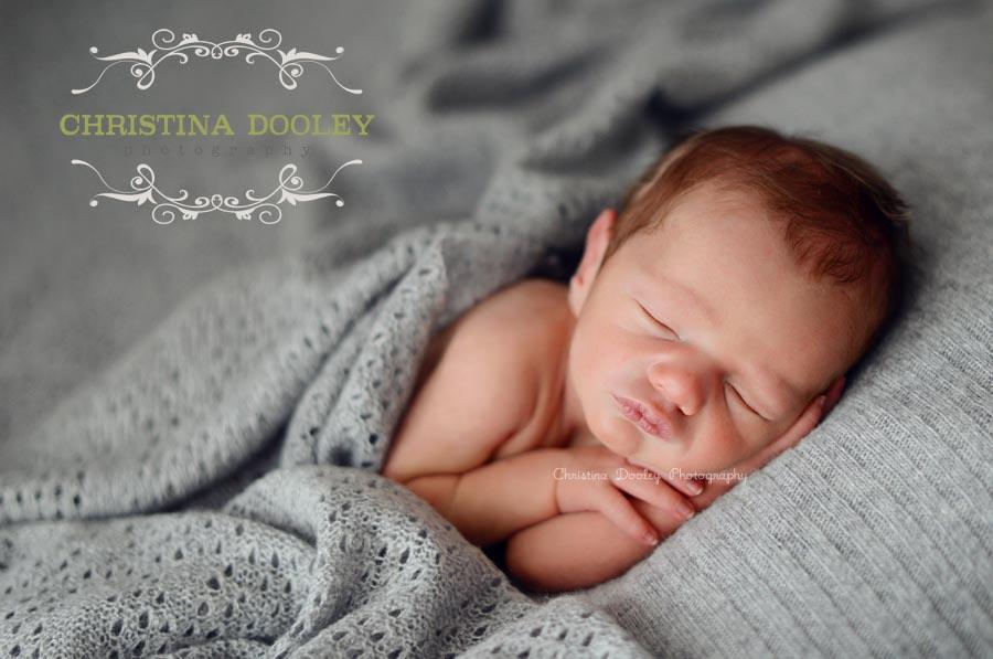 Cozy Sleeping Baby Photographer