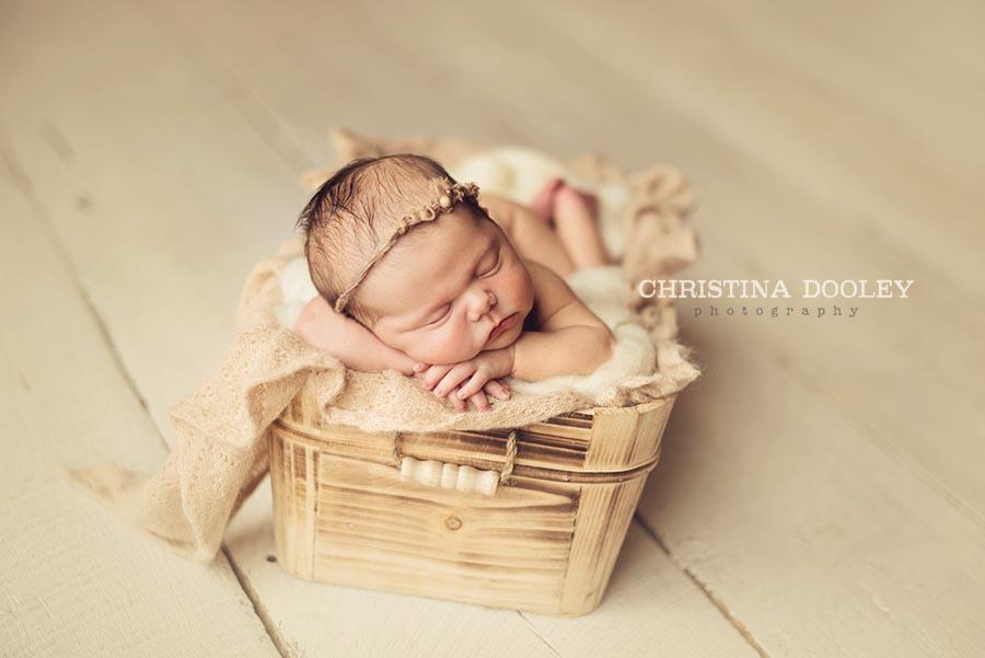 Denver Styled Sleepy Newborn Portrait Photographer