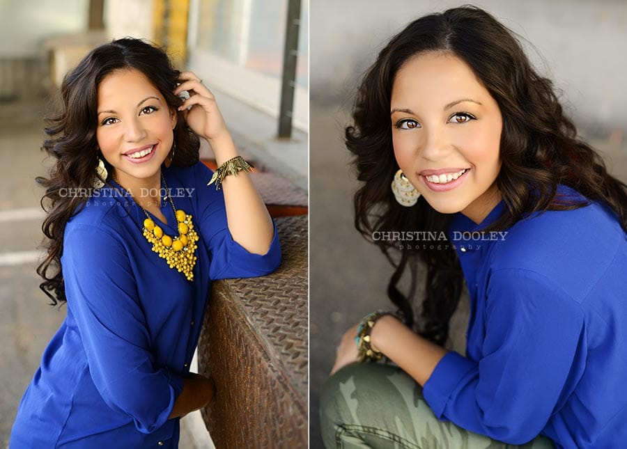 High School Senior portraits at the Taxi Building in Denver